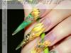 acryl 3D, pinselmalerei, nageldesign, nail art, schulung