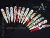 Aquarellmalerei, Miniaturmalerei, Pinselmalerei, Nail-Art, Nageldesign, Schulung, Ausbildung, Nails