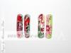 Miniaturmalerei, Pinselmalerei, Acryl Farbe, Nail-Art, Nageldesign, Schulung, Nails