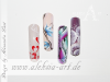 One Stroke, Pinselmalerei, Nail-Art, Nails, Nageldesign, Schulung